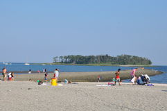 Silver Sands State Park in Milford, Connecticut Stock Image
