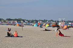 Silver Sands State Park in Milford, Connecticut Stock Photos
