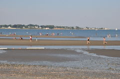 Silver Sands State Park in Milford, Connecticut stock images