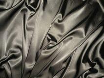 Silver satin Royalty Free Stock Image