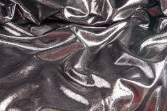 Silver satin background Stock Photography