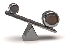 Silver scale Stock Photography