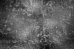 Silver scratch metal wall Stock Image