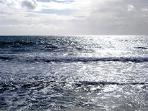 Silver Sea stock photography