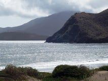 Silver sea. This a silver sea in the Caribean sea 6 Stock Image