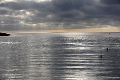 The silver sea Stock Images