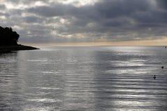 The silver sea Stock Photos