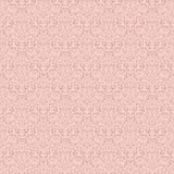 Silver seamless baroque pattern. Luxury silver seamless pattern on light pink background. For wallpaper, wrapping, textile, web page background, invitation card Stock Images