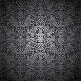 Silver seamless pattern Royalty Free Stock Image