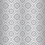 Silver seamless royal floral wallpaper Royalty Free Stock Photos