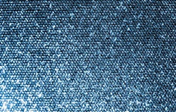 Silver Sequins Fabric Royalty Free Stock Photo