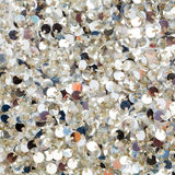 Silver sequins texture Stock Images
