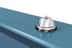 Silver service bell Royalty Free Stock Photo