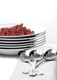 Silver Service Royalty Free Stock Photo