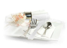 Silver Service Royalty Free Stock Images
