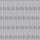 Silver shade vertical striped with diagonal striped cross patter Royalty Free Stock Images