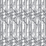 Silver shade weaving striped with star scattered pattern backgro Stock Images