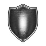 silver shield front lit Stock Images
