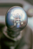 Silver shifter Royalty Free Stock Photo