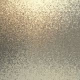 Silver shimmer background. Grey beige sanded texture. Shiny grains pattern. royalty free stock image