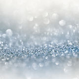 Silver shimmering background Royalty Free Stock Photos
