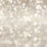 Silver shimmering background Stock Images