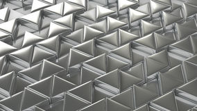 Silver shining mosaic background. Stock Photo