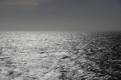 Silver shiny sea Stock Images