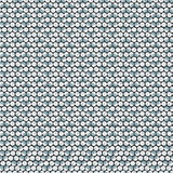 Silver shiny sequins with stitching seamless pattern Stock Images