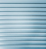 Silver Shutters Stock Photo