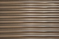 Silver Shutters Stock Images
