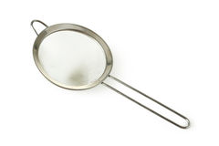 Silver sieve Royalty Free Stock Photography