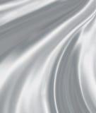 Silver silk Stock Photos