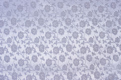 Silver silk cloth as background Stock Photography