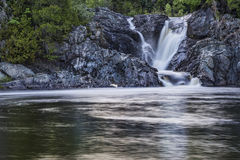 The Silver in Silver Falls Stock Photography