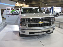 Silver Silverado Royalty Free Stock Photos