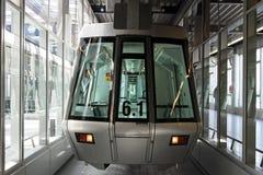 Silver skytrain Stock Photos