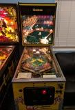 Silver Slugger pinball machine in arcade
