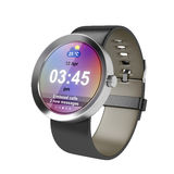 Silver smart watch Royalty Free Stock Photography