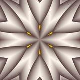 Silver Snowflake Star Royalty Free Stock Image
