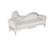 Silver sofa Royalty Free Stock Image