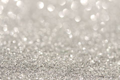 Silver sparkle background Royalty Free Stock Image