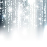 Silver sparkle Christmas background Royalty Free Stock Images