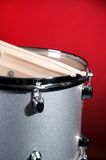 Silver Sparkle Tom Drum Royalty Free Stock Photo