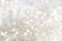 silver sparkles white Arkivbilder