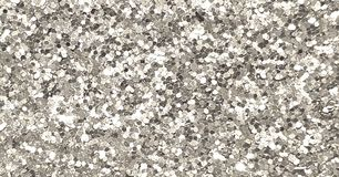 Silver sparkling sequin background royalty free stock photos