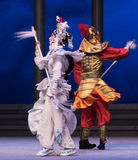 """Silver spear-The sixth act water overflows golden hill-Kunqu Opera""""Madame White Snake"""" Stock Image"""