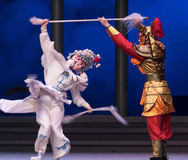 """Silver spear-The sixth act water overflows golden hill-Kunqu Opera""""Madame White Snake"""" Stock Photos"""