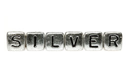 Silver spells silver Royalty Free Stock Photography