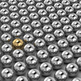 Silver sphere Stock Photography